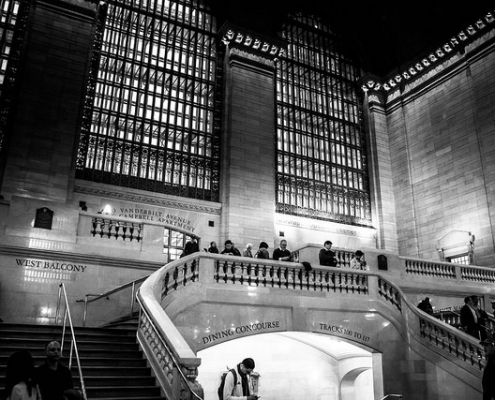 New York Grand Central Station East Staircase